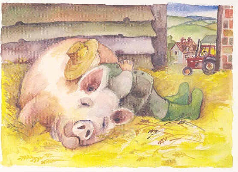 Farmer & his pig