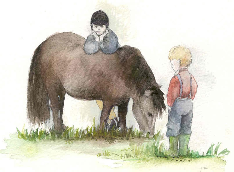 My big sister's pony