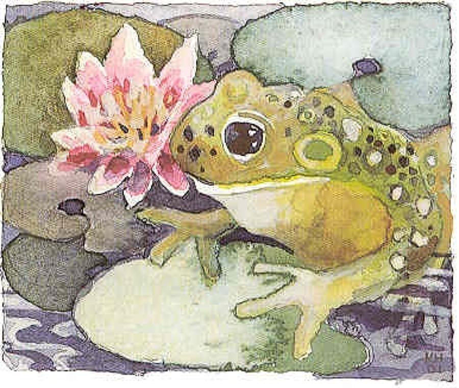 Frog & lilypad