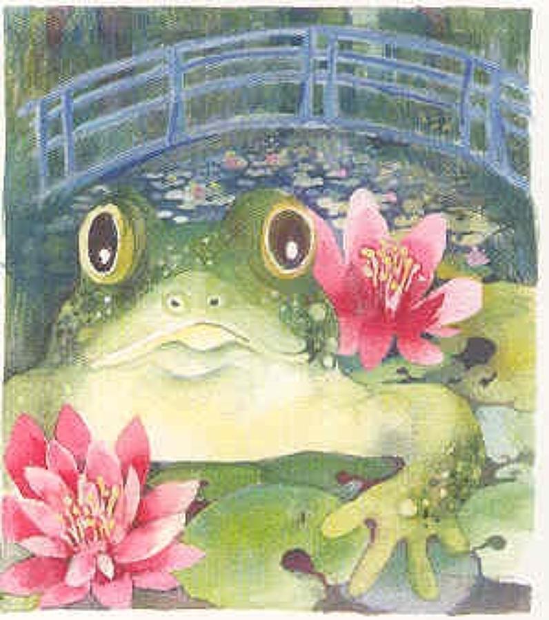 Monet's frog