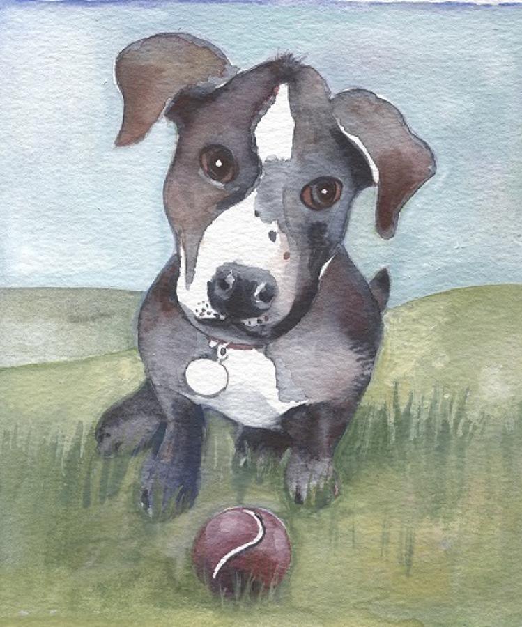 Dog & ball
