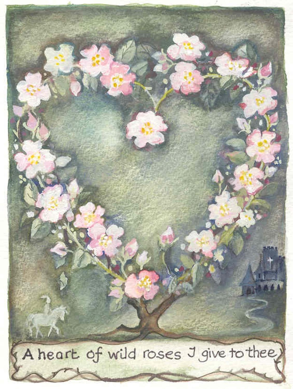 Heart of wild roses