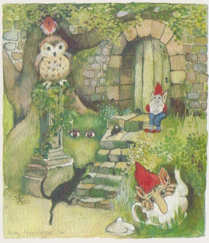Secret garden entrance