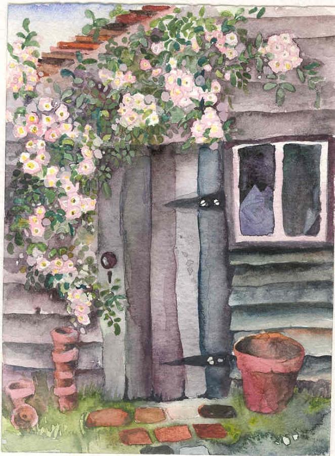 Old potting shed