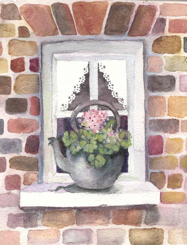 Flowering kettle