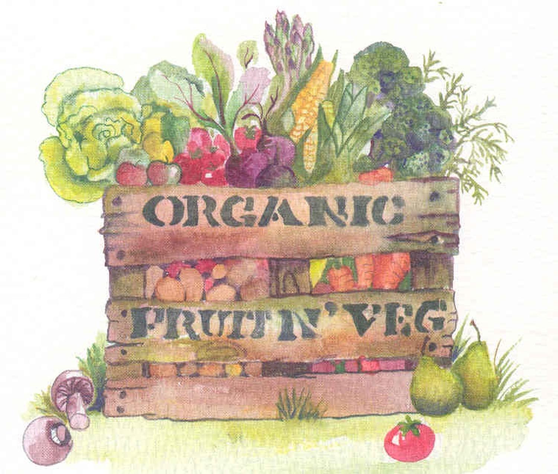 Organic fruit n' veg.