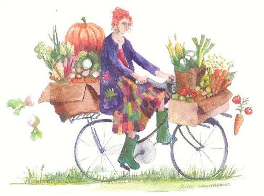 Lady of the allotment
