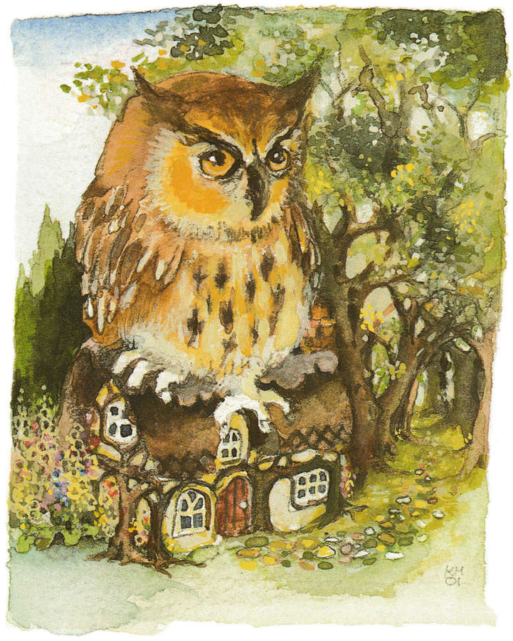 The witch's owl