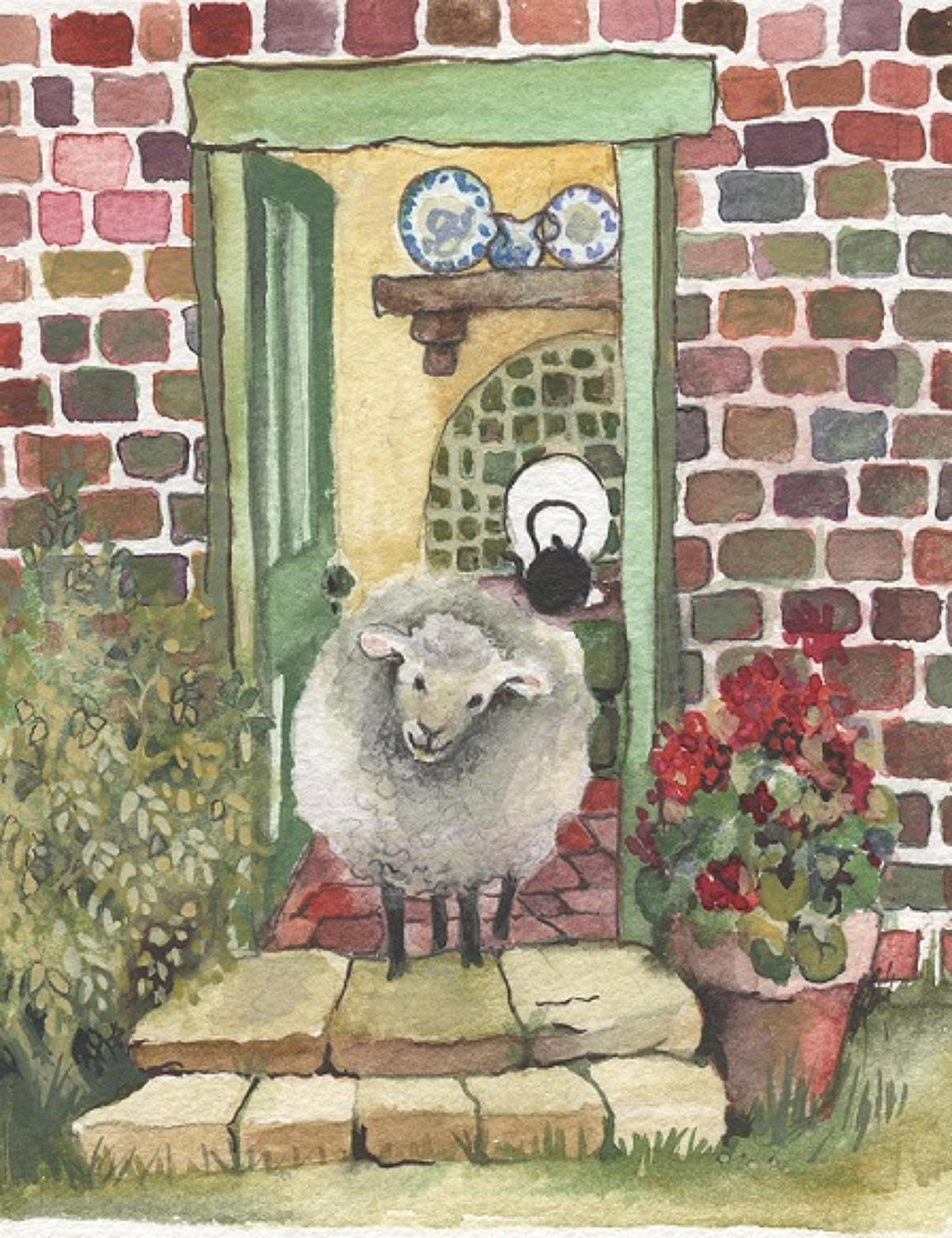 Sheep in the kitchen