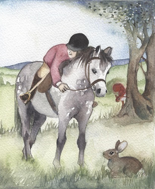 Pony, rabbit & squirrel