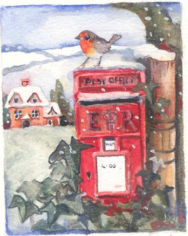 Robin & Postbox
