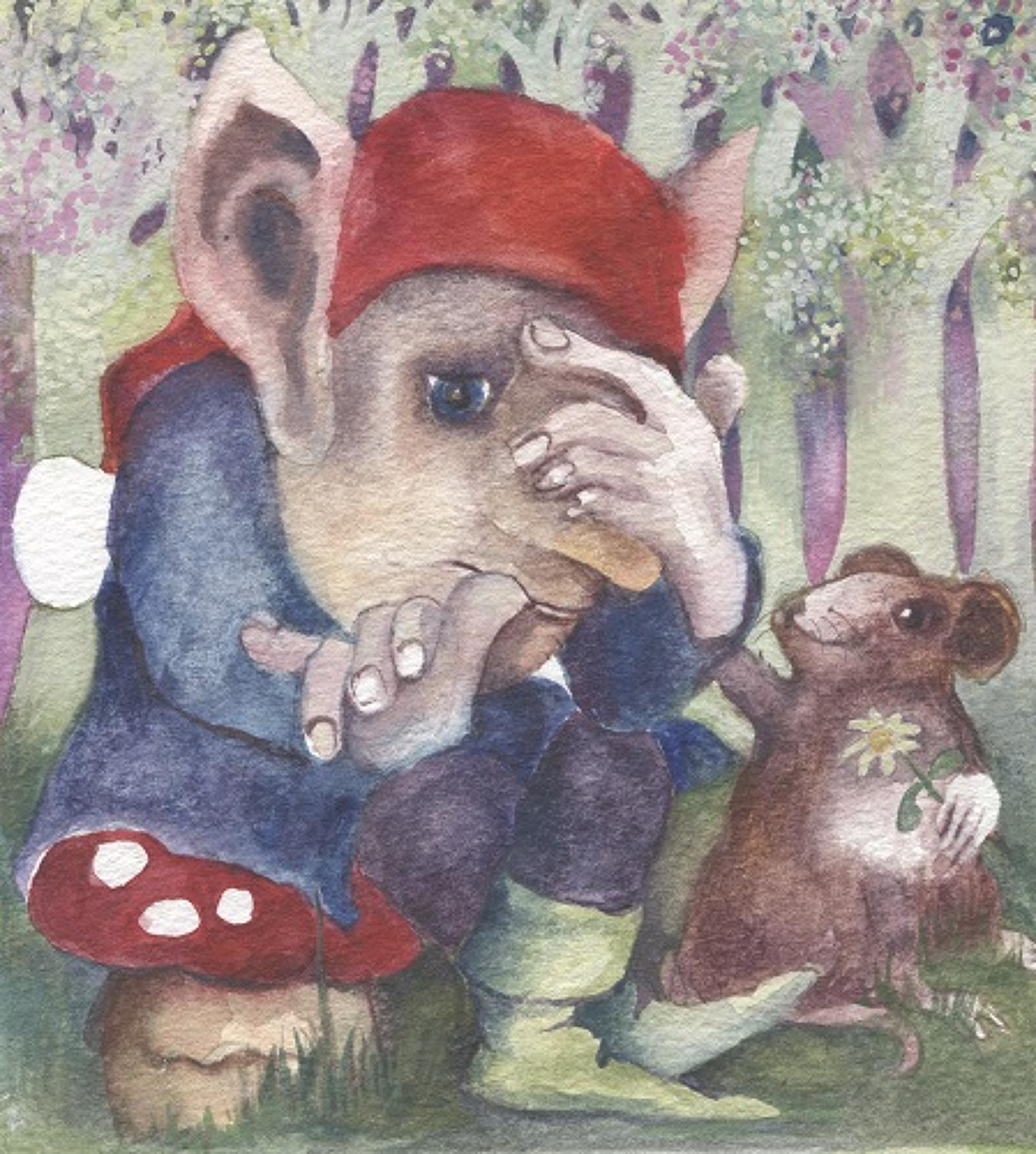 Worried Gnome