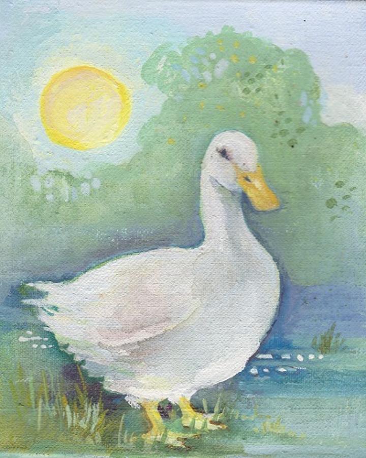 Duck & moon