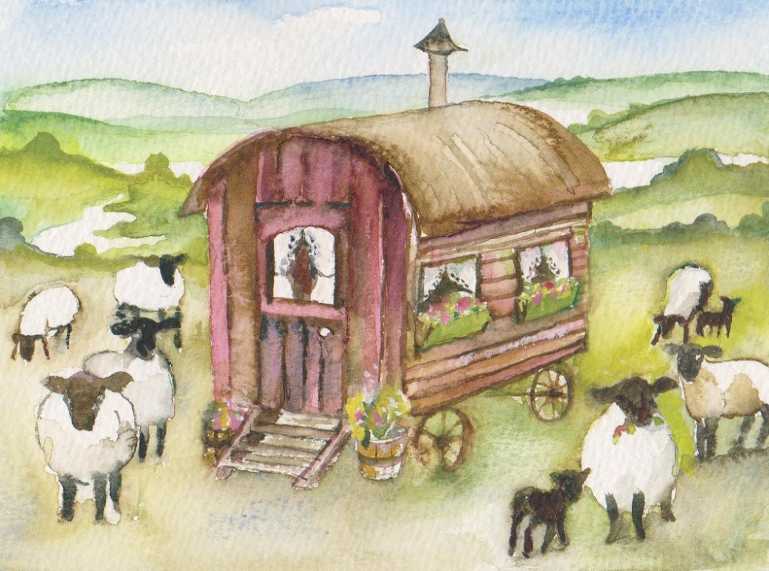 Shepherdess's hut